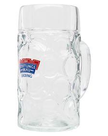 Glaskrug Stiftungsbräu 1,0 L