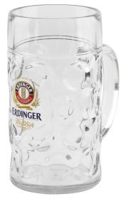 mug plastic 1,0l ERDINGER Weißbräu