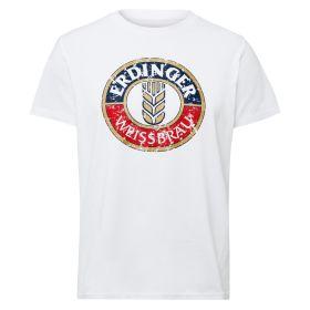 T-Shirt weiß ERDINGER Classic Herren