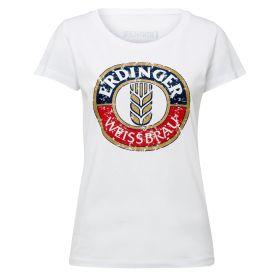 T-Shirt weiß ERDINGER Classic Damen