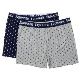 Boxershorts 2er-Pack blau/grau