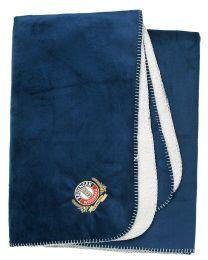 Velour blanket ERDINGER Weißbräu Classic blue