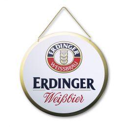 """Metallschild 31 cm """"ERDINGER"""""""
