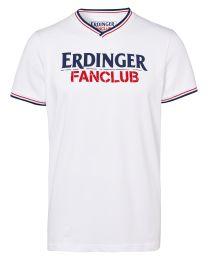 T-Shirt ERDINGER Fanclub weiß