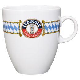 Tasse mit Rauten und Wappen 0,4l