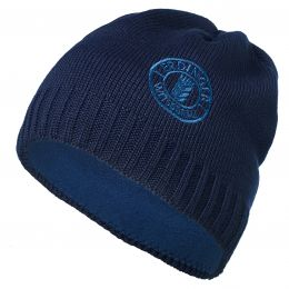 Strickmütze blau Erdinger Weißbräu