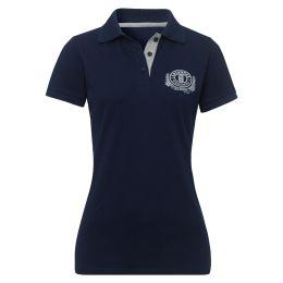 Poloshirt blau ERDINGER Classic Damen